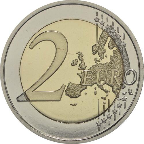 Vorderseite :Belgien : 2 Euro Child Focus  2016 PP
