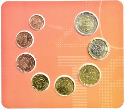 Vorderseite:San Marino : 3,88 Euro KMS San Marino  2016 Stgl.