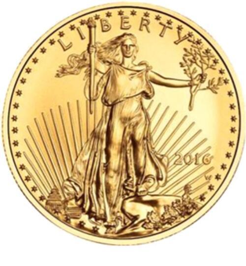Lieferumfang:USA : 25 Dollar Eagle  2016 Stgl.