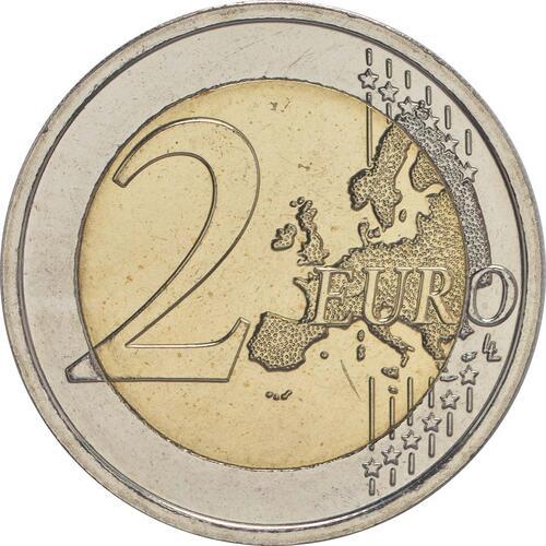 Vorderseite :Belgien : 2 Euro Olympische Sommerspiele 2016 in Rio de Janeiro  2016 bfr