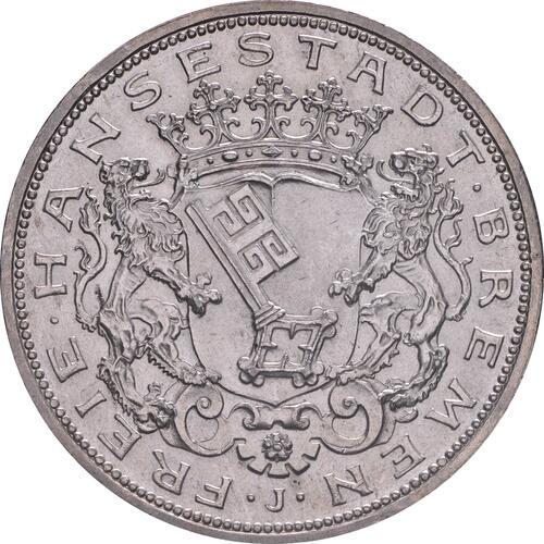 Vorderseite:Deutschland : 5 Mark   1906 vz/Stgl.