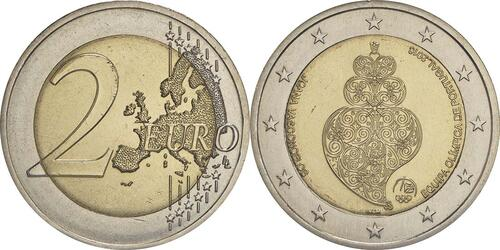 Lieferumfang:Portugal : 2 Euro Olympisches Team Rio 2016  2016 bfr