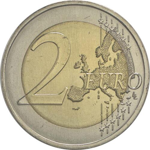 Vorderseite :Portugal : 2 Euro 50 Jahre Brücke des 25. Aprils  2016 bfr