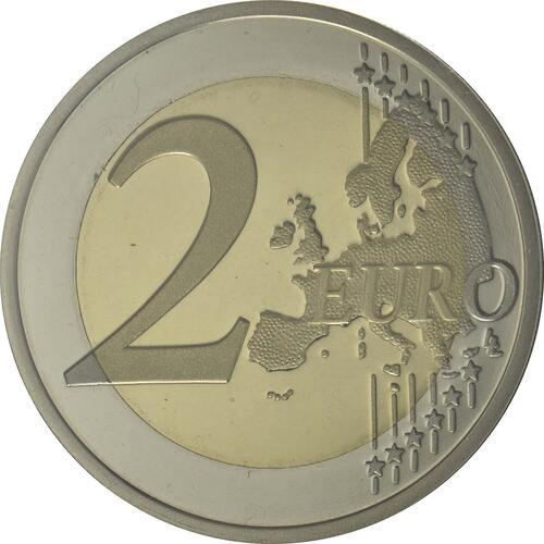 Vorderseite:Portugal : 2 Euro 50 Jahre Brücke des 25. Aprils  2016 PP