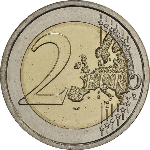 Vorderseite :Vatikan : 2 Euro Heiliges Jahr der Barmherzigkeit  2016 Stgl.
