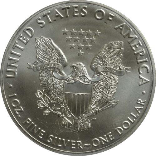 "Rückseite :USA : 1 Dollar Silber Eagle ""Vasco Nunez de Balboa""  2016 Stgl."