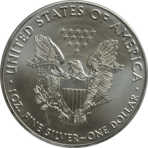 """Rückseite :USA : 1 Dollar Silber Eagle """"John Cabot""""  2016 Stgl."""