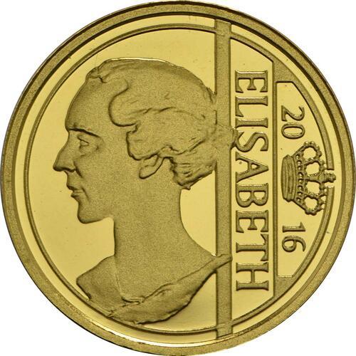 Vorderseite:Belgien : 12,5 Euro Elisabeth - Herzogin in Bayern  2016 PP