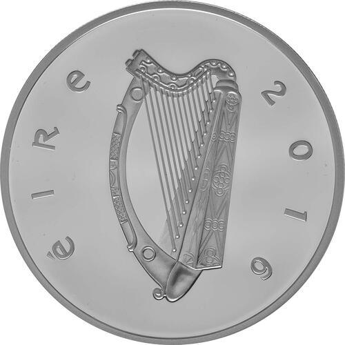 Rückseite:Irland : 15 Euro 100 Jahre Osteraufstand 1916  2016 PP