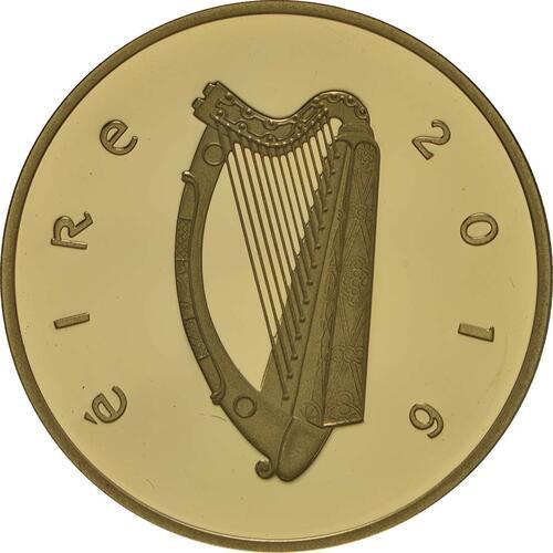 Rückseite:Irland : 50 Euro 100 Jahre Osteraufstand 1916  2016 PP