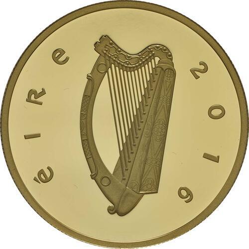Rückseite:Irland : 100 Euro 100 Jahre Osteraufstand 1916  2016 PP