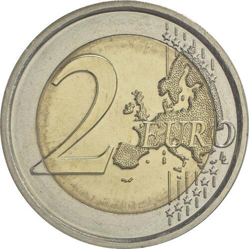 Vorderseite:Italien : 2 Euro Donatello Bardi  2016 bfr