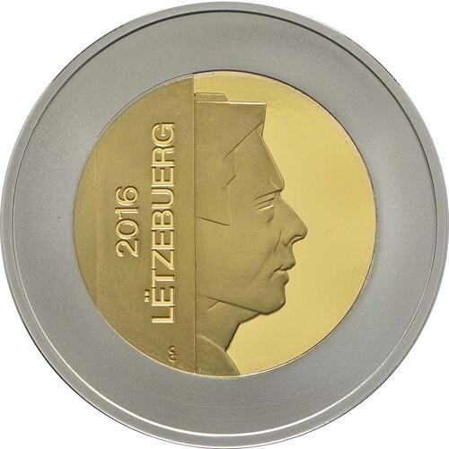 Vorderseite:Luxemburg : 5 Euro Kornblume  2016 PP