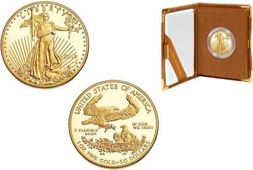 Lieferumfang :USA : 50 Dollar American Eagle 1 oz  2016 PP