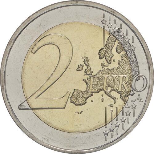 Vorderseite :Finnland : 2 Euro Leino  2016 bfr