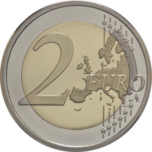 Vorderseite:Finnland : 2 Euro Leino  2016 PP