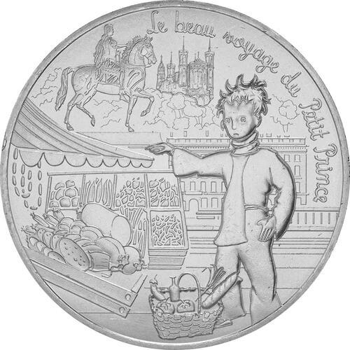 Vorderseite:Frankreich : 10 Euro 08/24 Der kleine Prinz und die Gastronomie  2016 bfr