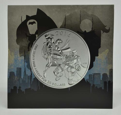 Lieferumfang:Kanada : 20 Dollar Batman vs Superman - 20$ für 20$ Serie  2016 Stgl.