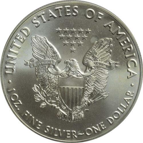Rückseite :USA : 1 Dollar Silber Eagle - Henry Hudson  2016 Stgl.