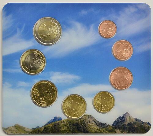 Rückseite:Andorra : 3,88 Euro KMS Andorra  2015 bfr