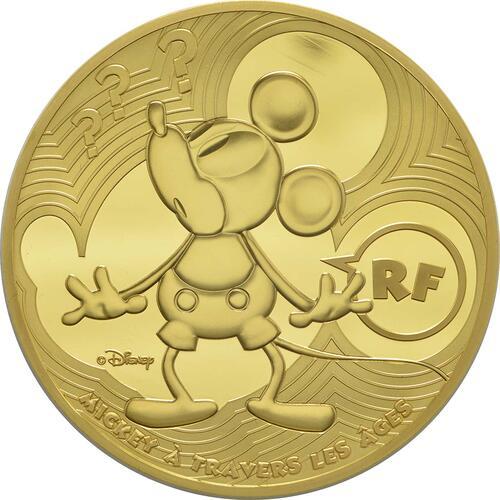 Vorderseite:Frankreich : 500 Euro Micky Maus im Wandel der Zeit  2016 PP