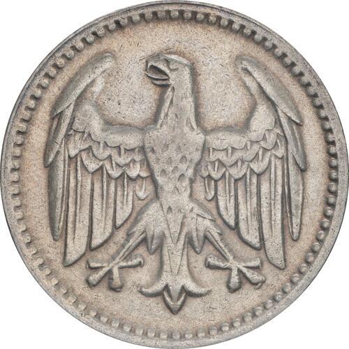 Rückseite:Deutschland : 3 Reichsmark Kursmünze  1925 vz.