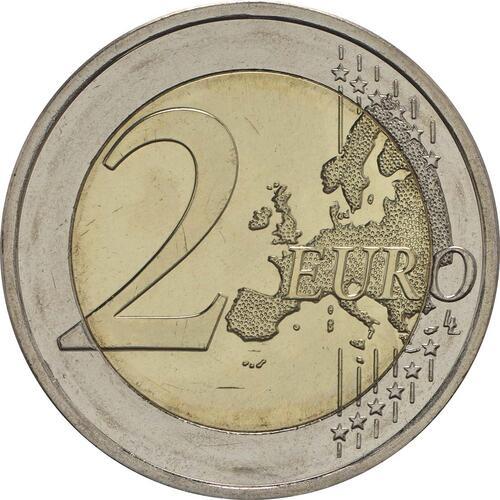 Vorderseite :Finnland : 2 Euro Georg Henrik von Wright  2016 bfr