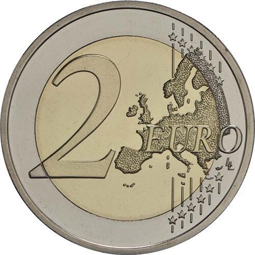 Vorderseite :Finnland : 2 Euro Georg Henrik von Wright  2016 PP