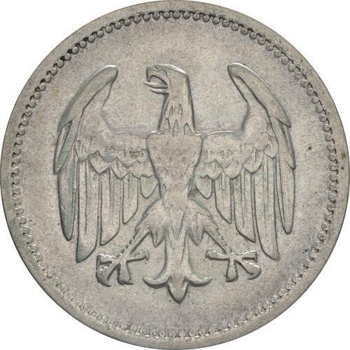 Rückseite:Deutschland : 1 Mark Kursmünze  1925 ss.