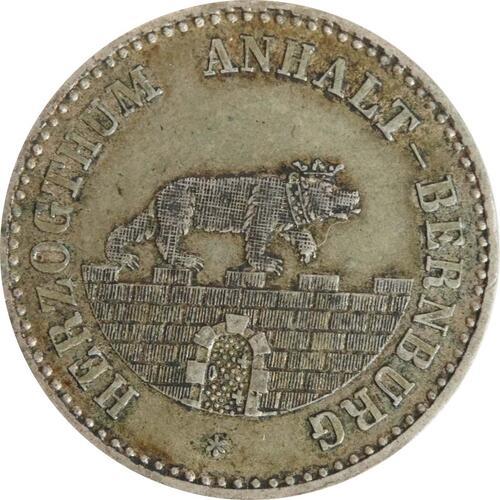 Rückseite:Deutschland : 1/6 Taler   1862 ss.