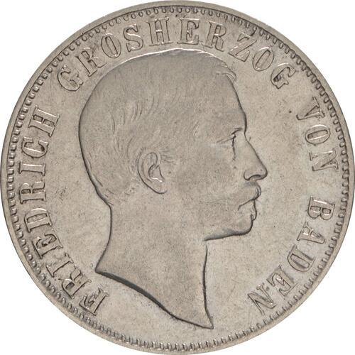 Vorderseite:Deutschland : 1/2 Gulden   1861 ss.