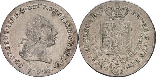 Lieferumfang :Deutschland : 1/6 Taler Büste / Wappen  1804 ss/vz.