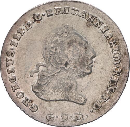 Vorderseite :Deutschland : 1/6 Taler Büste / Wappen  1804 ss/vz.