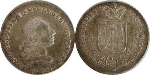 Lieferumfang:Deutschland : 1/6 Taler Georg III  1804 Stgl.