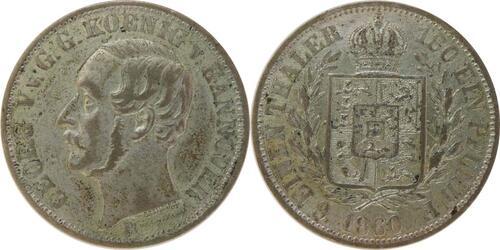 Lieferumfang:Deutschland : 1/6 Taler  patina 1860 vz.