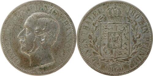 Lieferumfang :Deutschland : 1/6 Taler  patina 1860 vz.