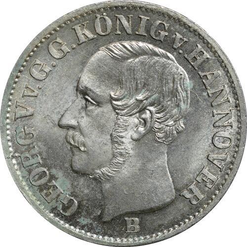 Vorderseite:Deutschland : 1/12 Taler  -seltene Erhaltung- 1853 Stgl.