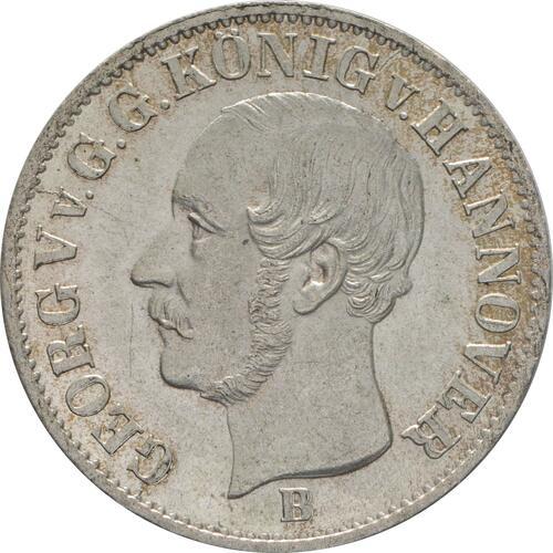 Vorderseite:Deutschland : 1/12 Taler  patina 1853 Stgl.