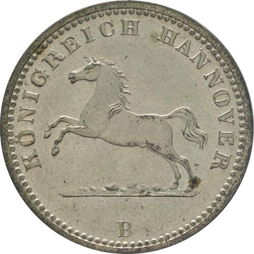 Vorderseite:Deutschland : 1 Groscchen   1859 Stgl.