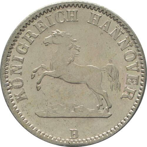 Vorderseite:Deutschland : 1/2 Groschen  -fein- 1861 Stgl.