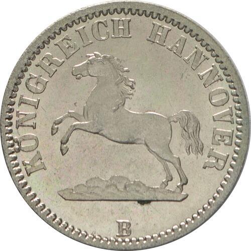 Vorderseite :Deutschland : 1/2 Groschen  winz. Kratzer 1861 Stgl.