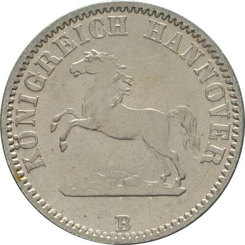 Vorderseite:Deutschland : 1/2 Groschen   1862 Stgl.
