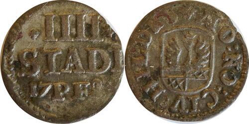 Lieferumfang:Deutschland : 4 Pfennig   1728 ss.