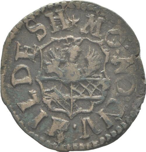 Rückseite:Deutschland : 4 Pfennig   1747 ss.