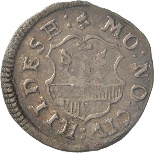 Rückseite:Deutschland : 4 Pfennig   1763 ss.