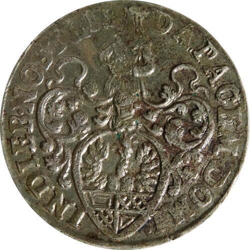 Rückseite:Deutschland : 6 Mariengroschen   1674 ss.