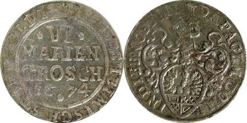 Lieferumfang:Deutschland : 6 Mariengroschen   1674 ss.