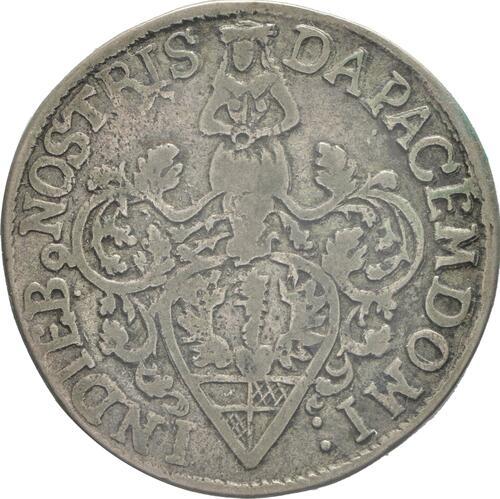 Rückseite :Deutschland : 6 Mariengroschen   1689 ss.