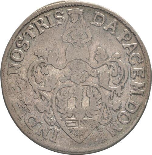 Rückseite:Deutschland : 6 Mariengroschen   1689 ss/vz.