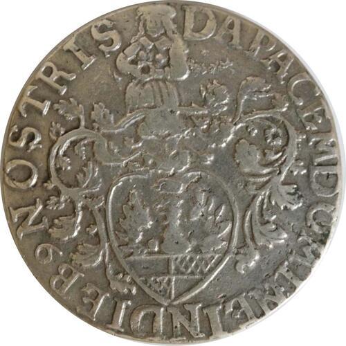 Rückseite:Deutschland : 24 Mariengroschen  winz. Kratzer 1687 ss/vz.